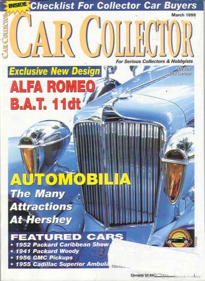 Car Collector - March 1998