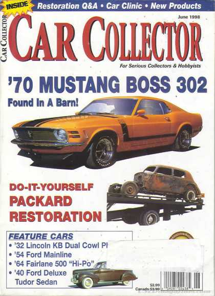 Car Collector - June 1998