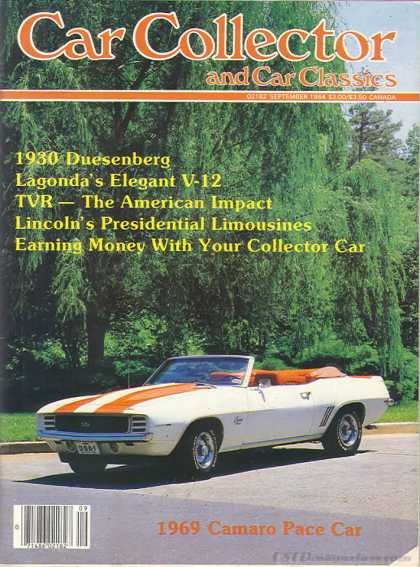 Car Collector - September 1984