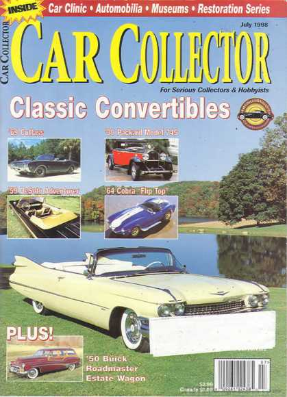 Car Collector - July 1998