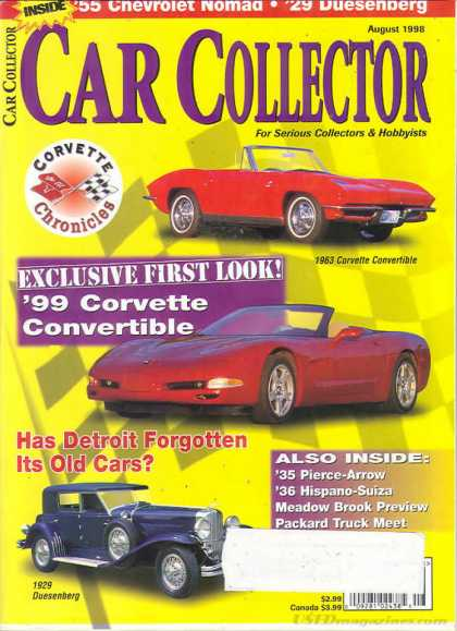 Car Collector - August 1998