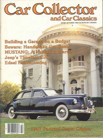 Car Collector - October 1984