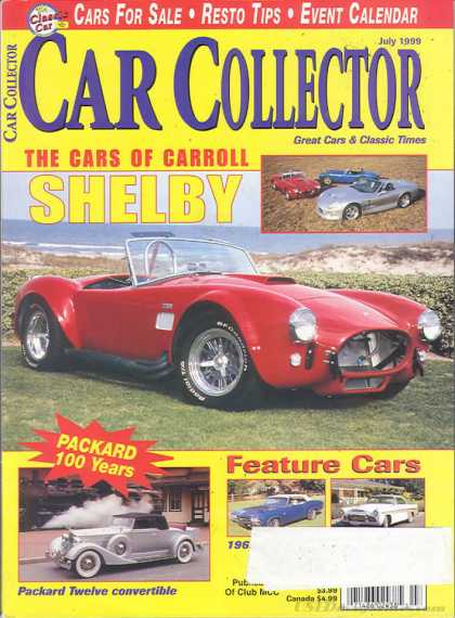 Car Collector - July 1999