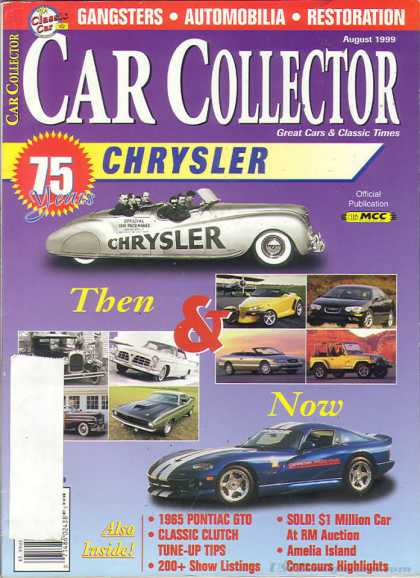 Car Collector - August 1999