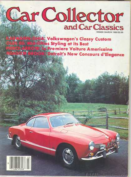 Car Collector - March 1980
