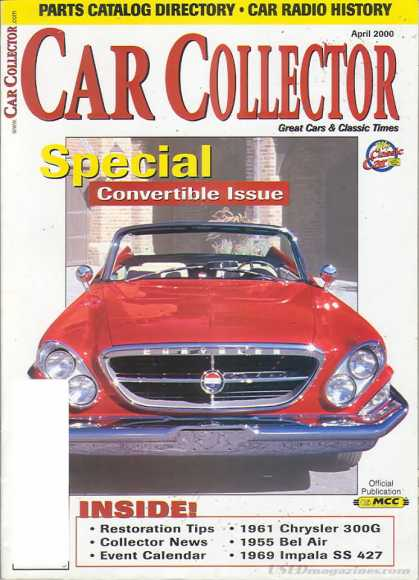 Car Collector - April 2000