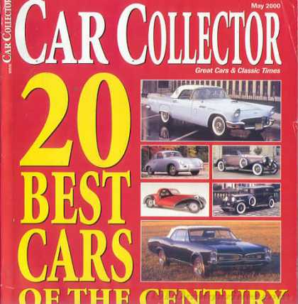 Car Collector - May 2000