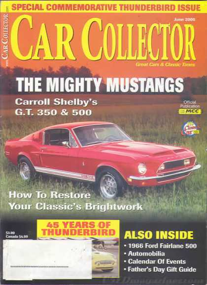 Car Collector - June 2000