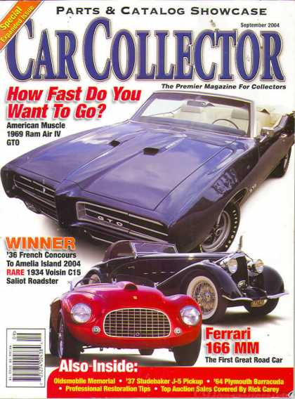 Car Collector - September 2004
