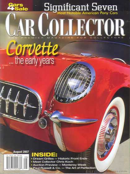 Car Collector - August 2007