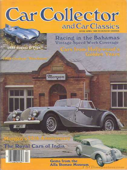 Car Collector - April 1985