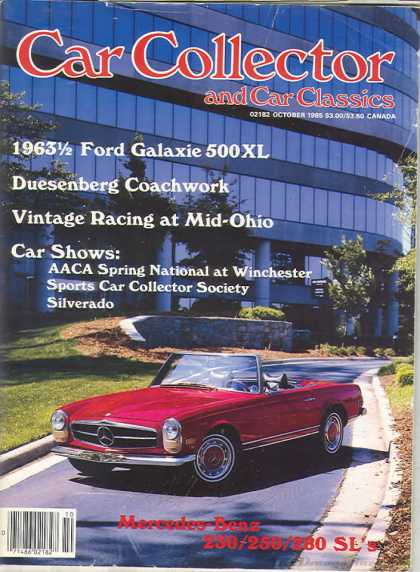 Car Collector - October 1985