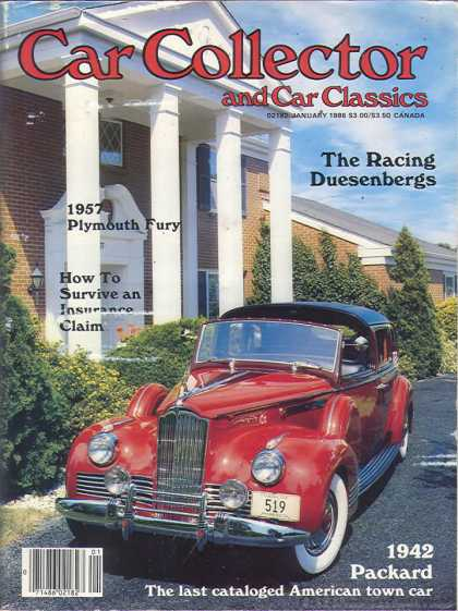 Car Collector - January 1986