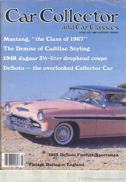 Car Collector - July 1986