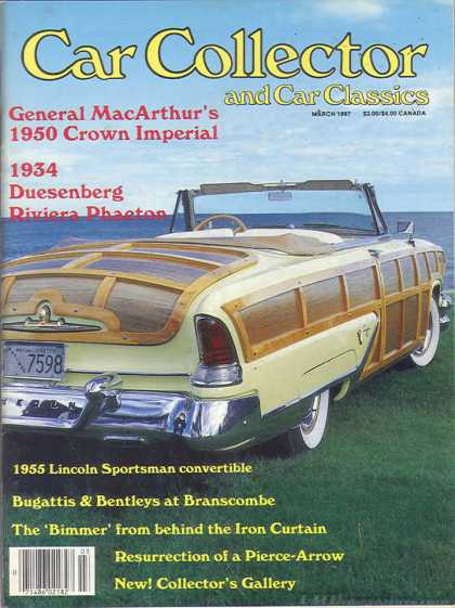 Car Collector - March 1987