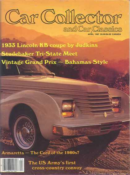 Car Collector - April 1987