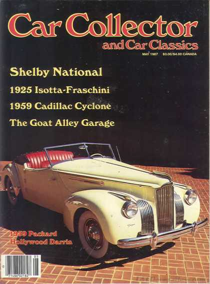 Car Collector - May 1987