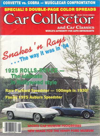 Car Collector - August 1987