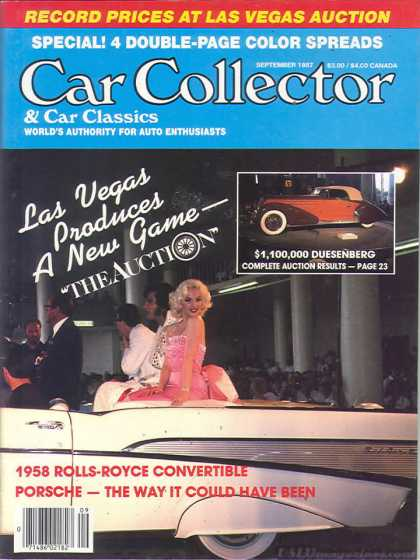 Car Collector - September 1987