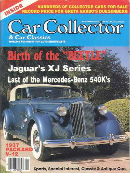 Car Collector - November 1987
