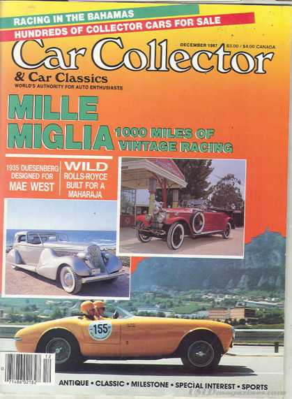 Car Collector - December 1987