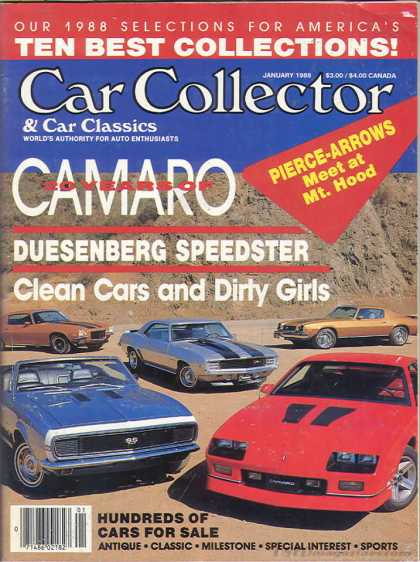 Car Collector - January 1988