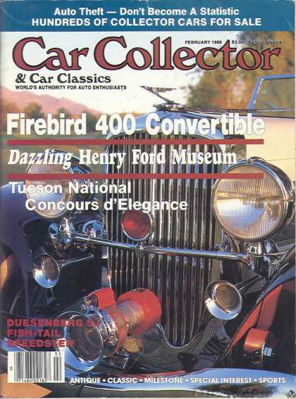 Car Collector - February 1988