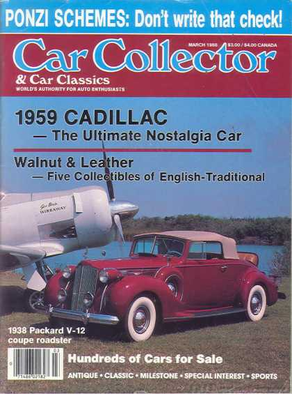 Car Collector - March 1988