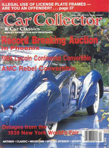 Car Collector - April 1988