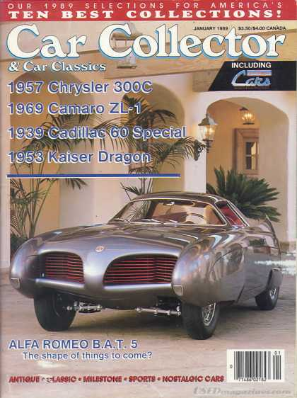 Car Collector - January 1989