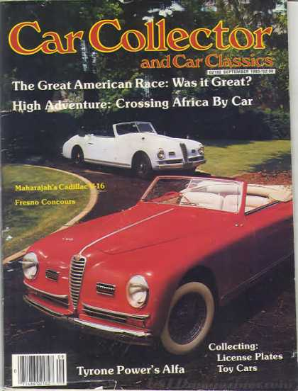 Car Collector - September 1983