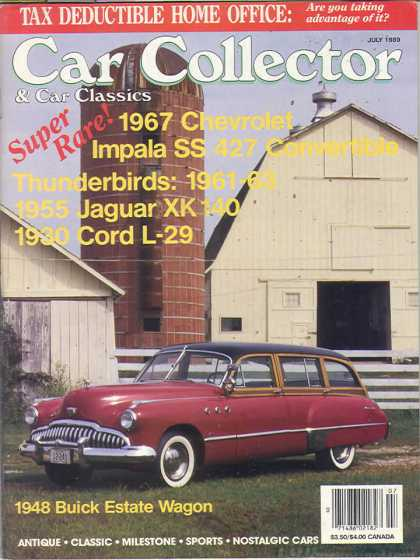 Car Collector - July 1989