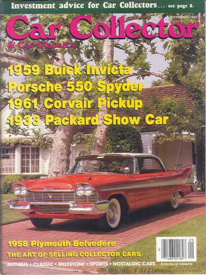 Car Collector - September 1989