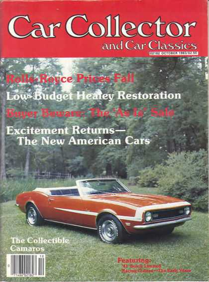 Car Collector - October 1983