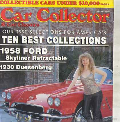Car Collector - January 1990