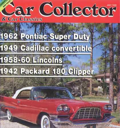 Car Collector - July 1990