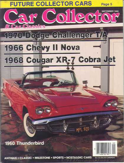 Car Collector - September 1990