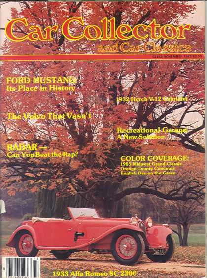 Car Collector - November 1983