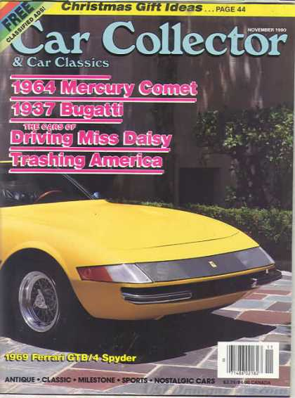 Car Collector - November 1990