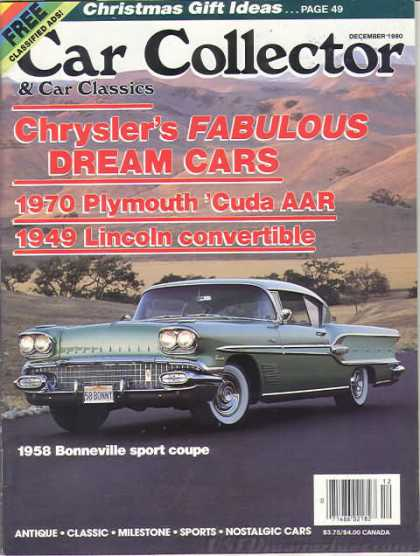 Car Collector - December 1990