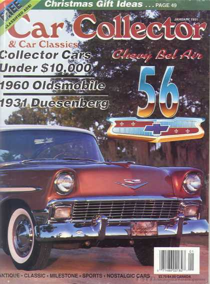 Car Collector - January 1991