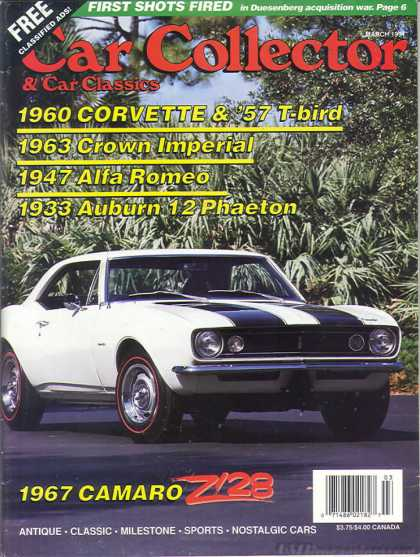 Car Collector - March 1991