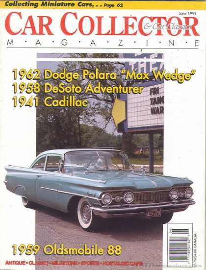 Car Collector - June 1991
