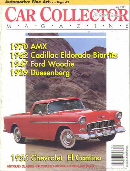 Car Collector - July 1991
