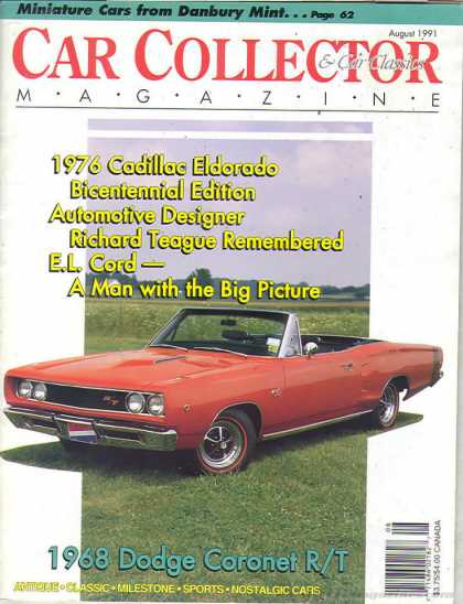 Car Collector - August 1991