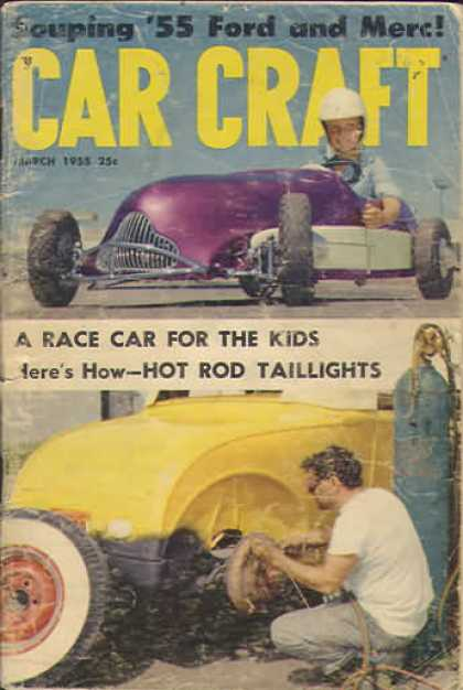 Car Craft - March 1955