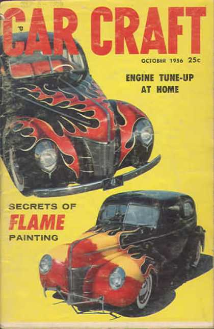 Car Craft - October 1956