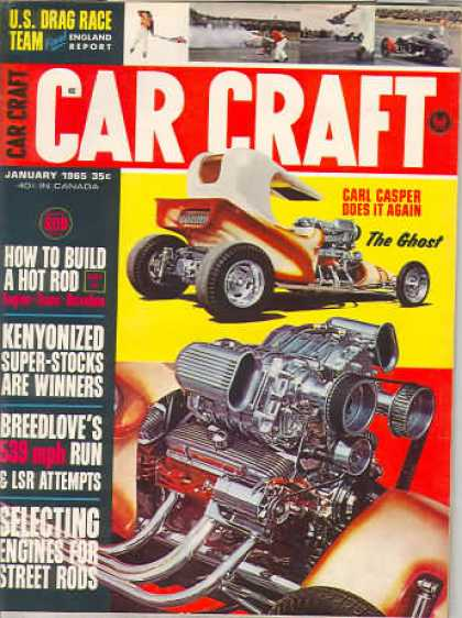 Car Craft - January 1965
