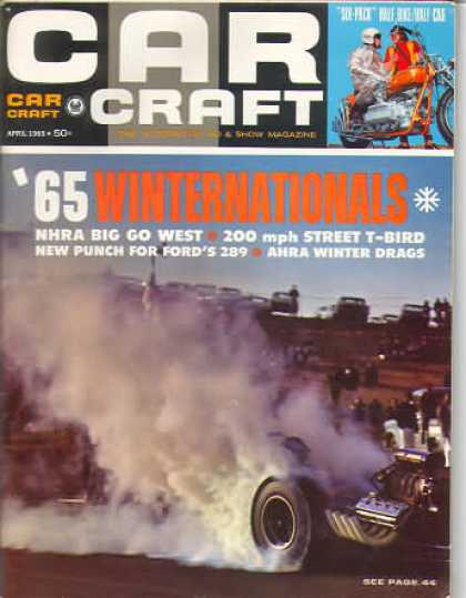 Car Craft - April 1965