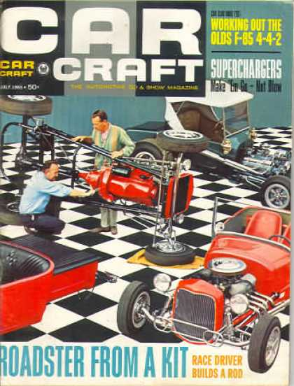 Car Craft - July 1965